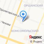 Автокар-Сервисцентр на карте Йошкар-Олы