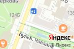 Схема проезда до компании Отдел военного комиссариата Республики Марий Эл по г. Йошкар-Оле в Йошкар-Оле