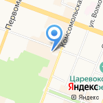 Управление МВД России по г. Йошкар-Оле на карте Йошкар-Олы