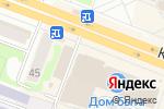 Схема проезда до компании Эксклюзив в Йошкар-Оле