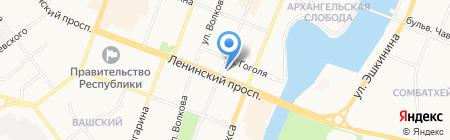 Национальный музей Республики Марий Эл им. Т. Евсеева на карте Йошкар-Олы