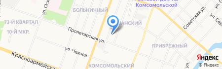 Почтовое отделение №36 на карте Йошкар-Олы