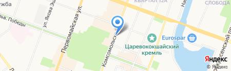 Новокомиссионный антикварно-книжный торгово-закупочный магазин на карте Йошкар-Олы