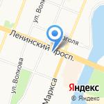КБ Хлынов на карте Йошкар-Олы