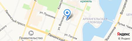 Центр продаж и обслуживания абонентов на карте Йошкар-Олы