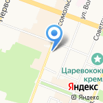 Охрана МВД России на карте Йошкар-Олы