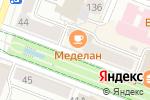 Схема проезда до компании Фантикофф в Йошкар-Оле