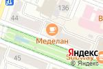 Схема проезда до компании Меделан Night в Йошкар-Оле