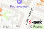 Схема проезда до компании Стрекоза в Йошкар-Оле
