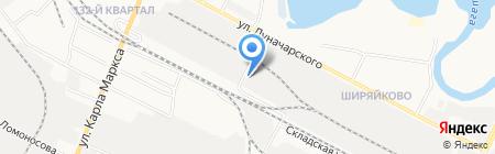 Колобок на карте Йошкар-Олы
