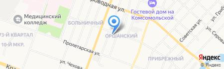 АКБ Связь-Банк на карте Йошкар-Олы