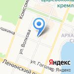 Почта банк на карте Йошкар-Олы