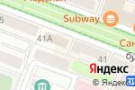 Схема проезда до компании Milavitsa в Йошкар-Оле