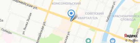 Лови Кофе на карте Йошкар-Олы