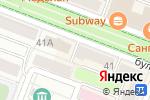 Схема проезда до компании 585 GOLD в Йошкар-Оле