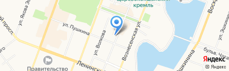 Аудит-центр на карте Йошкар-Олы