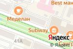 Схема проезда до компании Книголюб в Йошкар-Оле