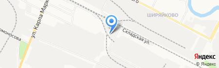 Бастион на карте Йошкар-Олы