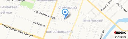 Банкомат АИКБ Татфондбанк на карте Йошкар-Олы