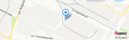 Чистый город на карте Йошкар-Олы