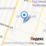 Марий Эл Дорстрой на карте Йошкар-Олы