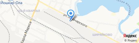 ТоргСоюз на карте Йошкар-Олы