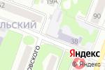Схема проезда до компании Золотой ключик в Йошкар-Оле