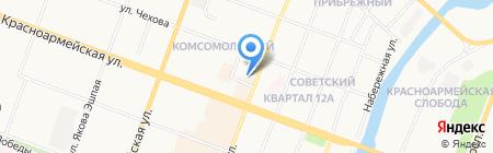 Техинсервис на карте Йошкар-Олы