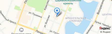 Эльф на карте Йошкар-Олы