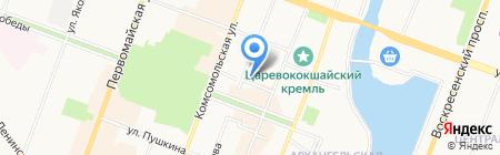 Отдел надзорной деятельности городского округа г. Йошкар-ола на карте Йошкар-Олы