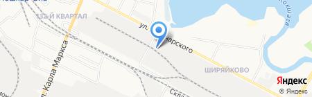 Мега-Мир на карте Йошкар-Олы