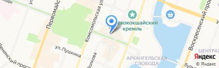 ЗЕВС на карте Йошкар-Олы