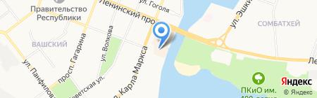 Студия цифровой фотопечати на карте Йошкар-Олы