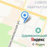 Прокуратура г. Йошкар-Олы на карте Йошкар-Олы