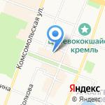 Yulsun.ru на карте Йошкар-Олы