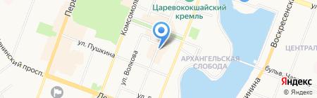 Банк ВТБ 24 на карте Йошкар-Олы