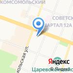 Марийская межрайонная природоохранная прокуратура на карте Йошкар-Олы