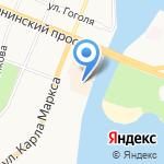 КСИЛ на карте Йошкар-Олы