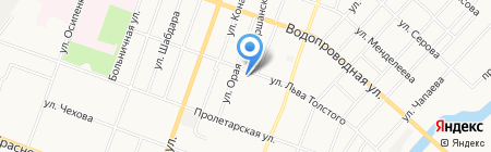 Новодент на карте Йошкар-Олы