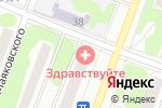Схема проезда до компании ЗДРАВствуйте в Йошкар-Оле
