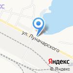 Центр пожарной безопасности на карте Йошкар-Олы