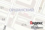Схема проезда до компании Новодент в Йошкар-Оле