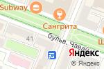 Схема проезда до компании Киоск по продаже игрушек в Йошкар-Оле