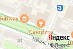 Схема проезда до компании Волга в Йошкар-Оле