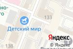 Схема проезда до компании Мамин Хвостик в Йошкар-Оле