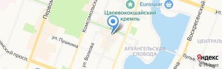 Магазин профессиональной израильской косметики на Советской на карте Йошкар-Олы