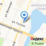Управление Пенсионного фонда РФ в г. Йошкар-Оле на карте Йошкар-Олы