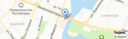 ROILS CLUB на карте Йошкар-Олы