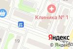 Схема проезда до компании банк Открытие, ПАО в Йошкар-Оле