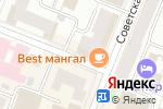 Схема проезда до компании Галерея дверей в Йошкар-Оле